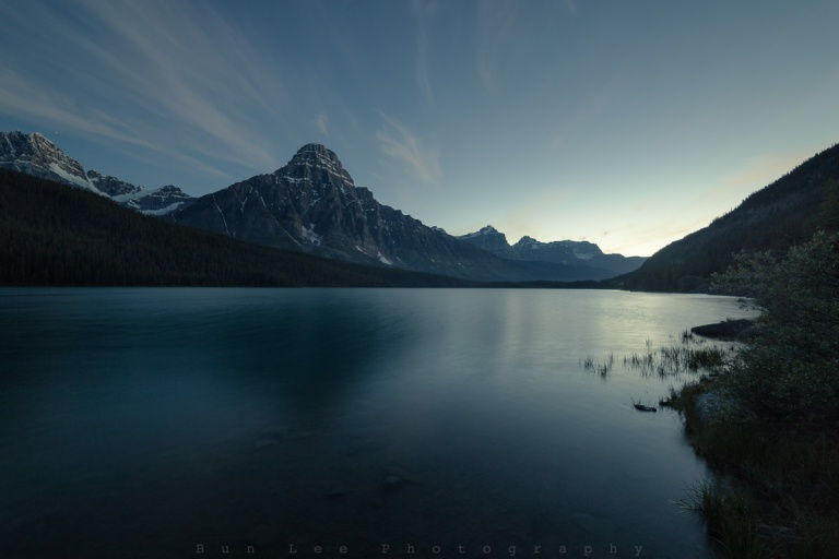 Waterfowl Lake Twilight