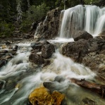 Rainy day is a good day for some long exposure of water running. Other than the trouble of keeping yourself dry!