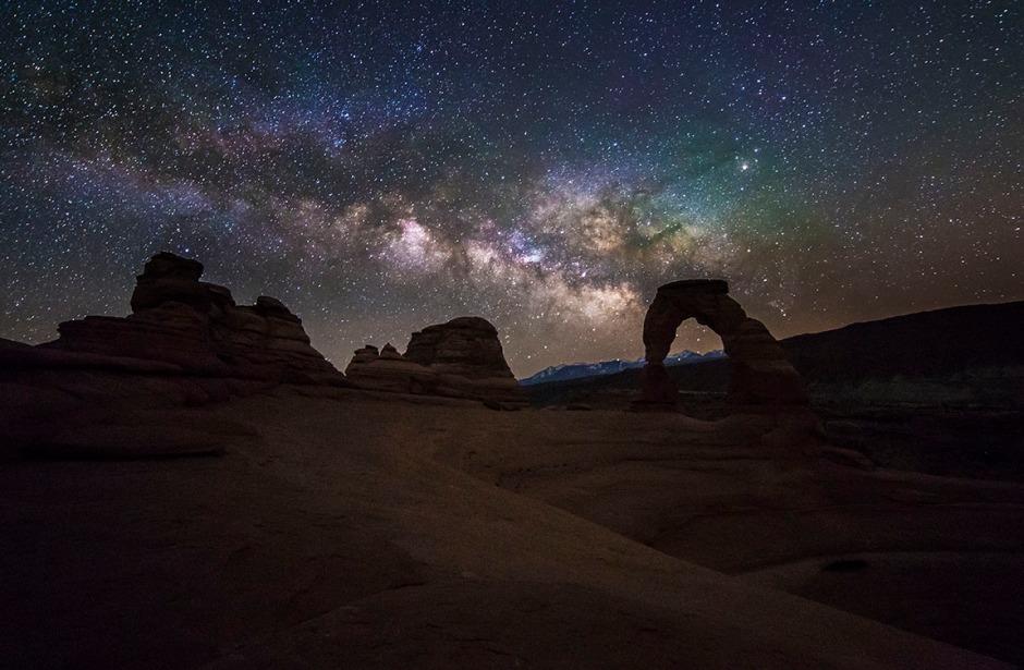 Delicate Arch Galaxy