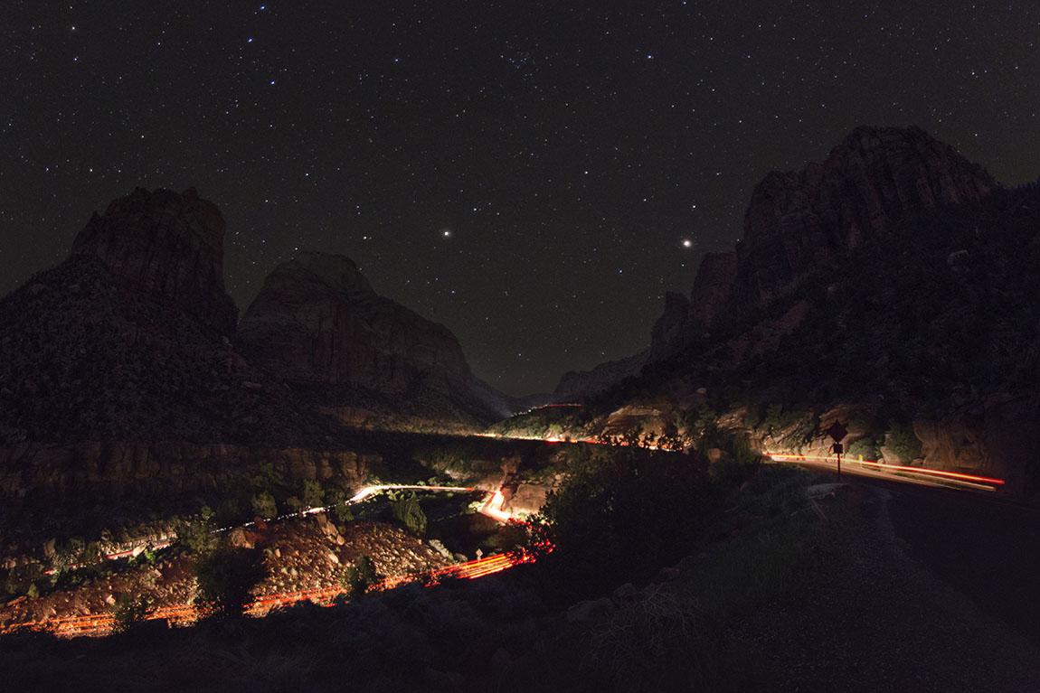 Zion Night Traffic