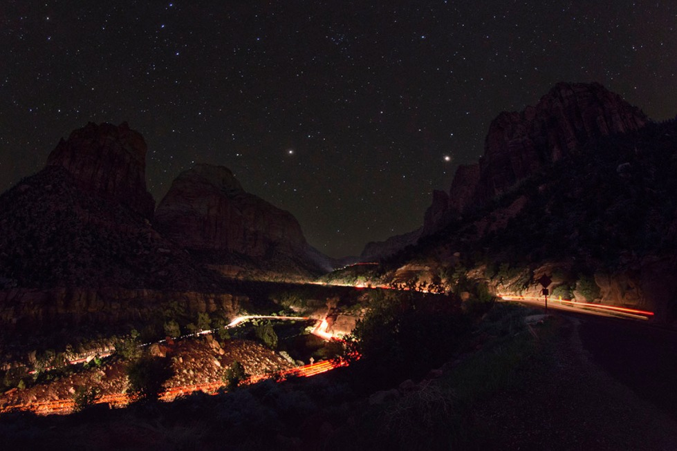 Zion Night Traffic