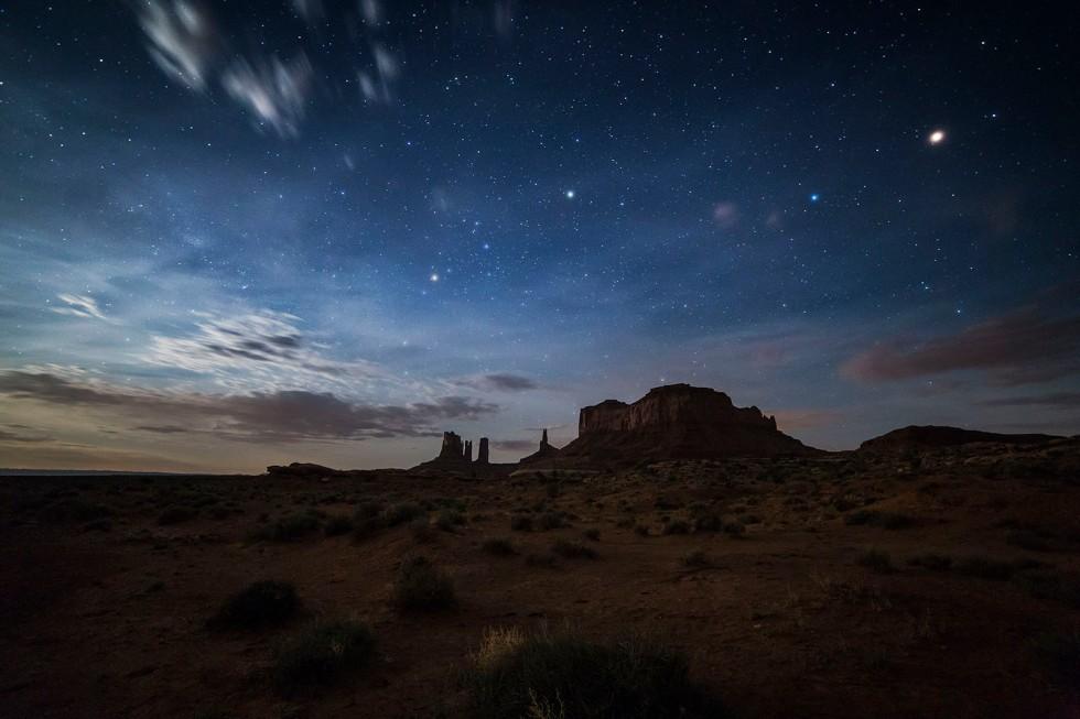 Monument Night Sky