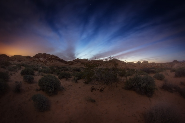 Twilight in the Valley