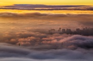 Fogcouver Sunrise