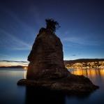 Siwash Rock Twilight