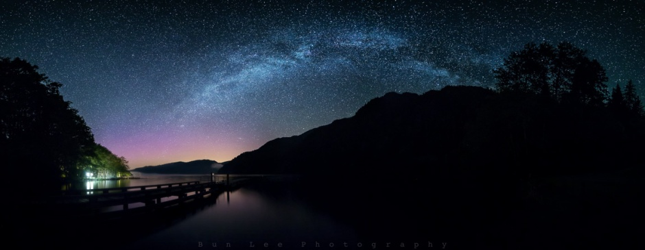 Lake Crescent Aurora