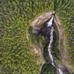It's always nice to see thing in a different perpective. In this case a waterfalls from above. Hope you enjoy it and have a great day!