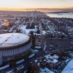 Pacific Coliseum in Vancouver, British Columbia, Canada