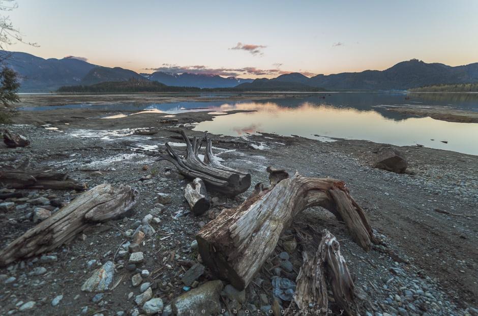 Stave Lake Sunset
