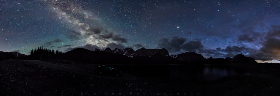Kananaskis Galaxy