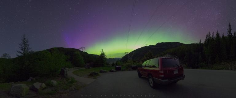 Roadside Aurora