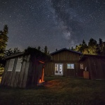 A wonderful weekend over the Canada Day weekend staying at my buddy new home on the island. It was great to have the dark night sky right in the backyard!!