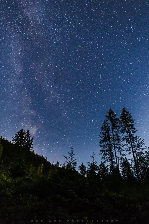 Blue Hour Galaxy