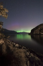 It was the last few nights of the meteor shower and was out to Porteau Cove having some great time shooting and night panic under the dark night sky. And the aurora was out later that night giving us some bonus lights by the end of the night!!