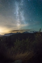 Milky way above Tantalus Lookout point on Sea To Sky Highway. Spent a evening exploring Squamish Valley and made this last stop before heading back to Vancouver. It was a great night chasing milky way! Hope you enjoy and have a great night!