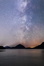 Another night out at Porteau Cove Provincial Park by the pier shooting milky way. First try of the Canon 50mm L lens for some astrophotography. It was capture for 8 sec at f/1.4 ISO2500. There are quite a bit of distortion at the corner. Other than that, it is pretty sharpe even at f/1.4. Hope you enjoy it and have a great day!