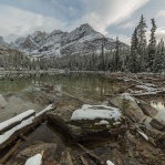 Afternoon hike along the Lake O'Hara Trail after setting up my tent at the campground. A regular warm up hike when you get to this beautiful place an try to take it all in!! Hope you enjoy! Have a great day!