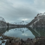 No matter what kind of weather, Lake O'Hara will never disappoint!!