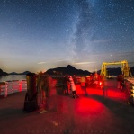 There was a star party last night at Porteau Cove Provincial Park. It was fun to see so many people were out under the dark night sky!
